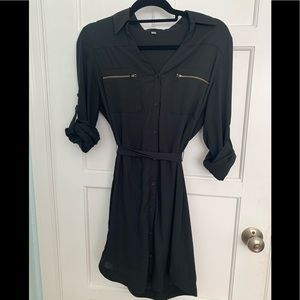 Express Portofino Shirt Dress